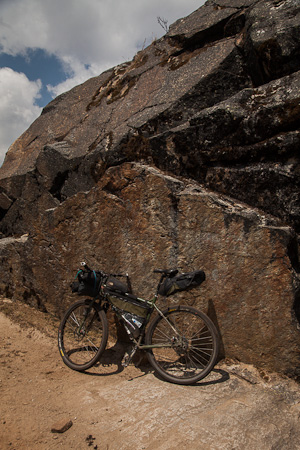 Hike N Biking The Santa Cruz Trail Peru While Out Riding